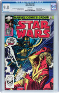 Modern Age (1980-Present):Science Fiction, Star Wars #63 (Marvel, 1982) CGC NM/MT 9.8 White pages....