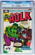 Modern Age (1980-Present):Superhero, The Incredible Hulk #271 (Marvel, 1982) CGC NM- 9.2 White pages....