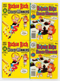 Bronze Age (1970-1979):Cartoon Character, Richie Rich Digest Winners #1 and 5 File Copy Long Box Group(Harvey, 1977-78) Condition: Average NM-....