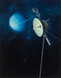 Paintings, JOHN CONRAD BERKEY (American, 1932-2008). Space Probe Uranus. Acrylic and casein on board. 21 x 16.5 in. (image). Signed...