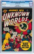 Golden Age (1938-1955):Science Fiction, Journey Into Unknown Worlds #37 (#2) (Atlas, 1950) CGC VF+ 8.5Cream to off-white pages....