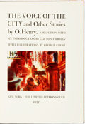 Books:Literature 1900-up, George Grosz, illustrator. SIGNED/LIMITED. O. Henry. The Voiceof the City and Other Stories. New York: Limited ...