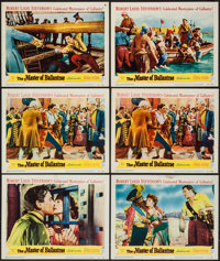 """The Master of Ballantrae (Warner Brothers, 1953). Lobby Cards (11) (11"""" X 14""""). Swashbuckler. ... (Total: 11 I..."""