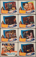 """Movie Posters:Crime, Bunco Squad (RKO, 1950). Lobby Card Set of 8 (11"""" X 14""""). Crime..... (Total: 8 Items)"""