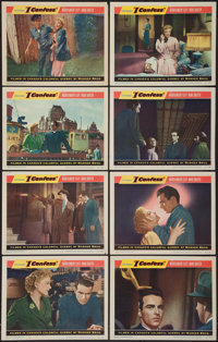 """I Confess (Warner Brothers, 1953). Lobby Card Set of 8 (11"""" X 14""""). Hitchcock. ... (Total: 8 Items)"""