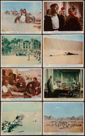 """Movie Posters:Academy Award Winners, Lawrence of Arabia (Columbia, 1962). British Front of House Color Photo Set of 8 (8"""" X 10""""). Academy Award Winners.. ... (Total: 8 Items)"""
