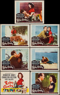 "Movie Posters:Drama, Ruby Gentry (20th Century Fox, 1953). Title Card and Lobby Cards (6) (11"" X 14""). Drama.. ... (Total: 7 Items)"