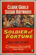 """Movie Posters:Adventure, Soldier of Fortune (20th Century Fox, 1955). One Sheet (27"""" X 41"""").Adventure.. ..."""