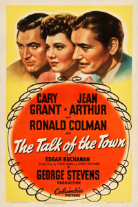 "The Talk of the Town (Columbia, 1942). One Sheet (27.25"" X 41"")"