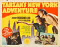 "Movie Posters:Adventure, Tarzan's New York Adventure (MGM, 1942). Half Sheet (22"" X 28"")....."
