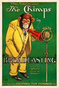 "Movie Posters:Comedy, Broadcasting (Educational Film Exchanges, Inc, 1930). One Sheet(27.25"" X 40.75"").. ..."