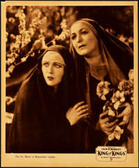 """The King of Kings (Pathé, 1927). Jumbo Lobby Card Set of 8 (14"""" X 17""""). ... (Total: 8 Items)"""