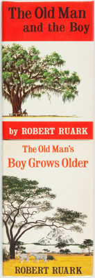 Robert Ruark. The Old Man and the Boy. New York: Henry Holt and Company, [1957]. [and:] T