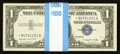 Small Size:Silver Certificates, Fr. 1620* $1 1957A Silver Certificates. 100 Consecutive Examples. Choice Crisp Uncirculated.. ... (Total: 100 notes)
