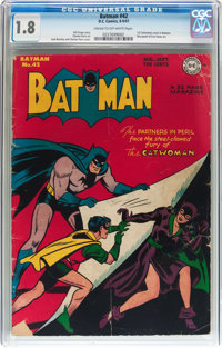 Batman #42 (DC, 1947) CGC GD- 1.8 Cream to off-white pages