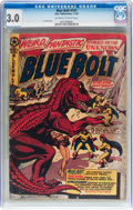 Golden Age (1938-1955):Science Fiction, Blue Bolt #107 (Star Publications, 1950) CGC GD/VG 3.0 Off-white towhite pages....