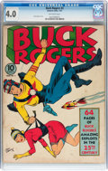 Golden Age (1938-1955):Science Fiction, Buck Rogers #2 (Eastern Color, 1941) CGC VG 4.0 Off-white pages....