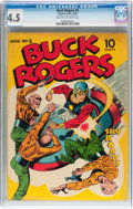 Golden Age (1938-1955):Science Fiction, Buck Rogers #5 (Eastern Color, 1943) CGC VG+ 4.5 Cream to off-whitepages....