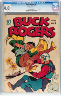 Golden Age (1938-1955):Science Fiction, Buck Rogers #6 (Eastern Color, 1943) CGC VG 4.0 White pages....