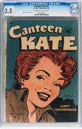 Golden Age (1938-1955):Romance, Canteen Kate #2 (St. John, 1952) CGC VG- 3.5 Off-white to whitepages....