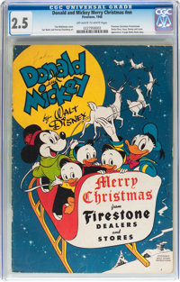 Donald and Mickey Merry Christmas #nn (K. K. Publications, Inc., 1948) CGC GD+ 2.5 Off-white to white pages