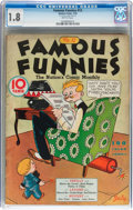Platinum Age (1897-1937):Miscellaneous, Famous Funnies #12 (Eastern Color, 1935) CGC GD- 1.8 Brittlepages....