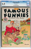 Platinum Age (1897-1937):Miscellaneous, Famous Funnies #28 (Eastern Color, 1936) CGC FN 6.0 Off-whitepages....