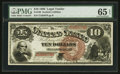 Large Size:Legal Tender Notes, Fr. 100 $10 1880 Legal Tender PMG Gem Uncirculated 65 EPQ.. ...