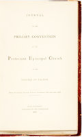 Books:Religion & Theology, [Maryland]: JOURNALS OF THE PROCEEDINGS OF THE ANNUAL CONVENTIONS OF THE PROTESTANT EPISCOPAL CHURCH IN THE DIOCESE OF EASTO...