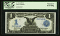 Large Size:Silver Certificates, Fr. 231 $1 1899 Silver Certificate PCGS Superb Gem New 67PPQ.. ...