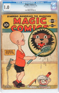 Golden Age (1938-1955):Miscellaneous, Magic Comics #2 (David McKay Publications, 1939) CGC FR 1.0 Cream to off-white pages....
