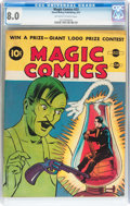 Golden Age (1938-1955):Miscellaneous, Magic Comics #23 (David McKay Publications, 1941) CGC VF 8.0 Off-white to white pages....