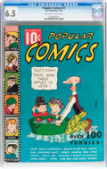 Platinum Age (1897-1937):Miscellaneous, Popular Comics #11 (Dell, 1936) CGC FN+ 6.5 Cream to off-white pages....