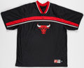 Basketball Collectibles:Uniforms, 2000-01 Ron Mercer Game Worn Chicago Bulls Shooting Shirt....