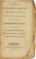 Books:Religion & Theology, Congregational Church: AN ADDRESS OF THE GENERAL ASSOCIATION OF CONNECTICUT, TO THE DISTRICT ASSOCIATIONS ON THE SUBJECT OF,...