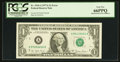 Error Notes:Mismatched Serial Numbers, Fr. 1910-A $1 1977A Federal Reserve Note. PCGS Gem New 66PPQ.. ...