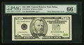 Error Notes:Obstruction Errors, Fr. 2126-K $50 1996 Federal Reserve Note. PMG Gem Uncirculated 66EPQ.. ...