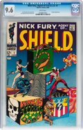 Silver Age (1956-1969):Superhero, Nick Fury, Agent of S.H.I.E.L.D. #1 (Marvel, 1968) CGC NM+ 9.6 White pages....