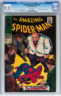 Silver Age (1956-1969):Superhero, The Amazing Spider-Man #51 (Marvel, 1967) CGC NM- 9.2 White pages....