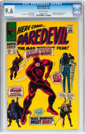 Silver Age (1956-1969):Superhero, Daredevil #27 (Marvel, 1967) CGC NM+ 9.6 Off-white pages....