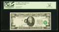 Error Notes:Shifted Third Printing, Fr. 2068-L $20 1969A Federal Reserve Note. PCGS Very Fine 25.. ...