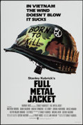 "Movie Posters:War, Full Metal Jacket (Warner Brothers, 1987). One Sheet (27"" X 41"") Advance. War.. ..."