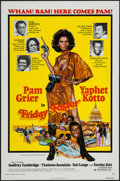 "Movie Posters:Blaxploitation, Friday Foster (American International, 1975). One Sheet (27"" X41""). Blaxploitation.. ..."