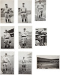 Baseball Collectibles:Photos, 1928 Babe Ruth, Lou Gehrig, Hack Wilson & Others SnapshotPhotographs....