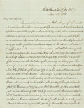 Miscellaneous:Ephemera, [Fort Sumter]. J. Moody Smith Autograph Letter Signed....