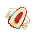 Estate Jewelry:Bracelets, Coral, Turquoise, Wood, Gold Bracelet. ...