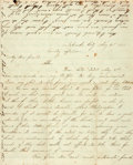 Miscellaneous:Ephemera, [Indian Troubles] and [Confederate Guerillas]. Home FrontLetter....