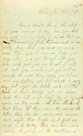 Miscellaneous:Ephemera, Union Soldier's Letter....