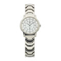 Timepieces:Wristwatch, Bvlgari Lady's Stainless Steel Solotempo Wristwatch. ...