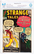 Silver Age (1956-1969):Superhero, Strange Tales #110 (Marvel, 1963) CBCS Restored FN+ 6.5 Slight to Moderate (Amateur) Cream to off-white pages....